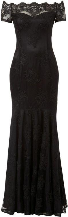 ♥ gorgeous black lace dress #style