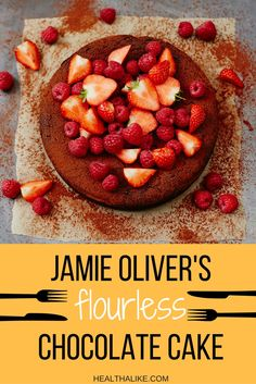 Try this easily prepared healthy flourless chocolate cake, to satiate your…