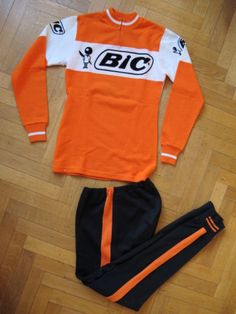 BIC ANQUETIL JERSEY CYCLING PROTEAM 1967-74
