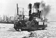 D.F HÄLSINGBORG i Helsingør havn, 1929