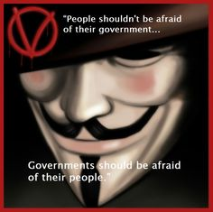 The Government is now afraid of the people.  We are watching all of you.  No one in government is safe anymore.  November 9th, 2016, the people finally spoke up!