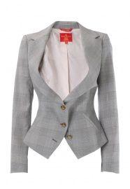 Busty Vivienne Westwood jacket