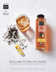 Introducing Pure Leaf Tea House Collection, a super-premium line of the finest organic tea leaves brewed with fruits and herbs.