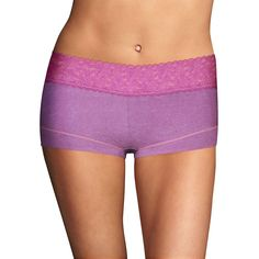 19 COLORS Sizes 5-9 Maidenform Women/'s Cheeky Lace Hipster Panties