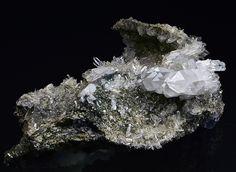 Bergkristall, Adular, Fluorit