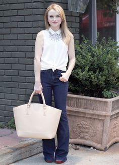 1-White-Top-Flare-Jeans-Poor-Little-It-Girl.jpg 497×685 pixels