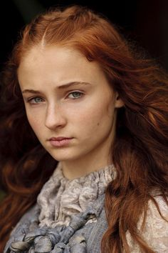 Game of Thrones Sansa Stark played by actress Sophie Turner.