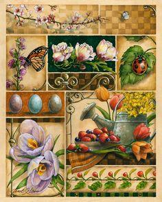 Spring Montage (Janet Stever)