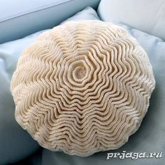 Вязание крючком подушки