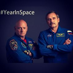 Between 1987 and 1999, four Russian cosmonauts spent a year or more consecutively in space. Now, for the first time, an American astronaut, @StationCDRKelly, will be joining that exclusive club, as he and Russian cosmonaut Mikhail Kornienko inhabit the station for a year. The crew launches to the space station at 3:42 p.m. ET this Friday. Learn more: www.nasa.gov/oneyear  #YearInSpace #NASA #Space #milestone #JourneyToMars