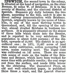 By the the population of Ipswich was around and the Australian Handbook rated it the second town in the colony of Queensland : Ipswich Qld, Brisbane River, Queenslander, Two By Two, Cottage, History, Country, Australia, Historia