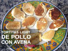 Tortitas light de pollo y avena. Fáciles y rápidas de preparar! http://wp.me/p6AuEQ-1Ak #recetas #wellness #dietasana