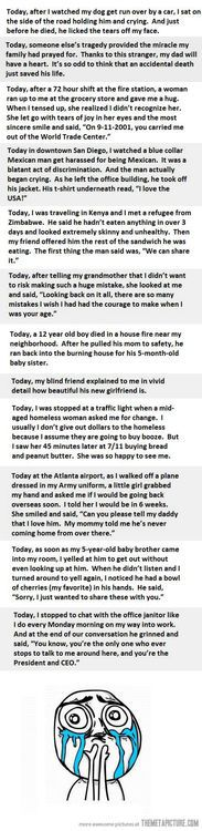 The tears wouldn't stop flowing. I literally lost it the moment I read the first one...