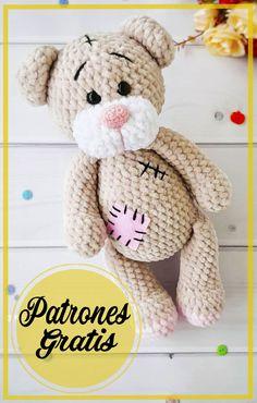 Amigurumi Free, Crochet Bear, Free Pattern, Crochet Patterns, Teddy Bear, Blanket, Dolls, Animals, Knitting