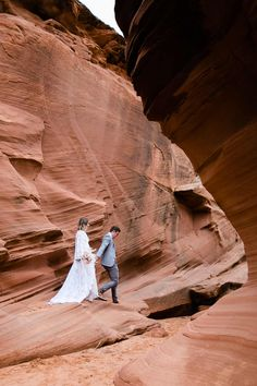 Curious about an Antelope Canyon Wedding? This slot canyon elopement in Page, Arizona is the perfect inspiration for your antelope canyon wedding dreams! Wedding Dreams, Dream Wedding, Slot Canyon, Antelope Canyon, Arizona, Nature, Travel, Inspiration, Biblical Inspiration