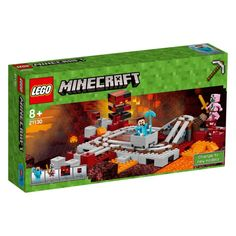 """Lego Minecraft 21130 - """"The Nether Railway"""" Not out yet - coming in 2017"""