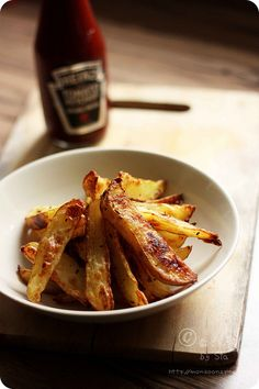 Low Fat Oven Roasted Potato Wedges Recipe