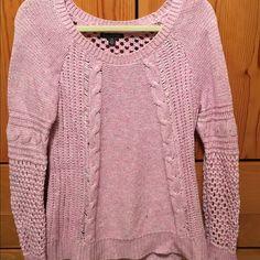 American Eagle sweater Heathered pink AE sweater American Eagle Outfitters Sweaters Crew & Scoop Necks