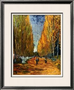 Avenue of The Elysian Fields Giclee Print by Vincent van Gogh at Art.com