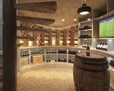 villa dh cave vin - Amenagement Cave A Vin Maison