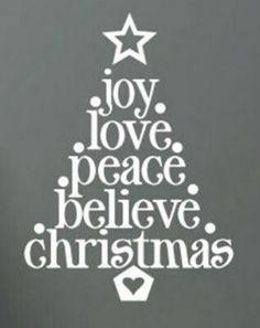Mooi voor de kerst.