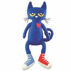 "My friends are getting a ""Pete the Cat"" to share!!  Yay.  ""Because it's all good""."
