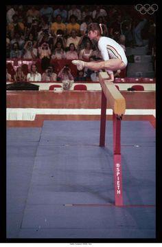 Montreal 1976-Gymnastics-Nadia Comaneci (ROM) 1st. #campgamesaroundthefire