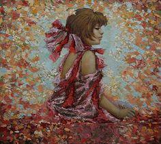 Painting by Russian artist Vladimir Ryabchikov
