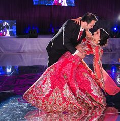 Exactly what I want my reception lengha to look like.