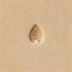 Sello De Cuero Flor J816-Herramientas decoración Craftool Tandy 681600 Crafts