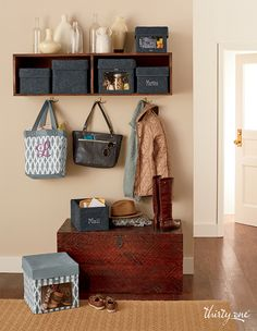 Come home to coordinating solutions that keep the whole family organized. Thirty One Uses, Thirty One Fall, Thirty One Gifts, Thirty One Organization, Entryway Organization, Organize Your Life, Organizing Your Home, Thirty One Business, Thirty One Consultant