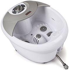 All in one foot spa bath massager w/ heat, HF vibration, infrared, O2 bubbles MS0809M Kendal http://www.amazon.com/dp/B00HCGB6BC/ref=cm_sw_r_pi_dp_ZKGyvb1NPC9R5