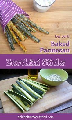 Zucchini Sticks low carb Ein gesunder Snack für zwischendurch oder eine tolle…