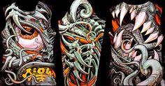 tattoo artist Aaron Cain