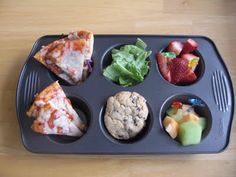 A million ideas for muffin tin snacks for kids