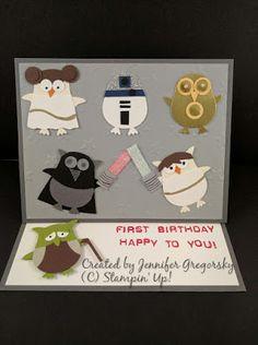 Jenny G Paper Crafts: Owl Long Time Ago...