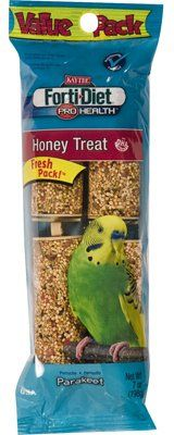 Kaytee Pet 100032922 Parakeet Treat Stick, Honey, 7-oz. - Quantity 6 ** More info could be found at the image url. (This is an affiliate link) #DogTreats