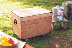 夏キャンプに必須のクーラーボックスをDIY!http://www.bepal.net/bbq/4343