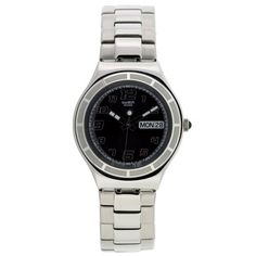 Men's Wrist Watches - Swatch Mens YGS740G Hus Tender Black Watch -- Visit the image link more details.