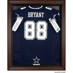 Dallas Cowboys Fanatics Authentic Brown Framed Logo Jersey Display Case - $199.99