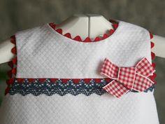 d71a59a6 10 mejores imágenes de vestidos bebes | Baby dresses, Baby gown y ...