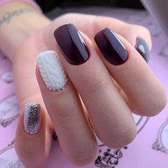 Gel Designs, Acrylic Nail Designs, Acrylic Nails, Christmas Nail Art Designs, Christmas Nails, New Nail Trends, Glamour Nails, Nagellack Trends, Nail Art Tools