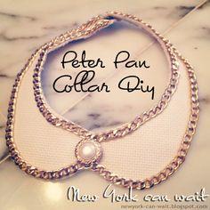 Tutorial // Peter Pan Collar DIY