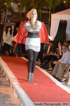 Jersey Shore Fashion Show, Sep 21, 2011 - Model Faye
