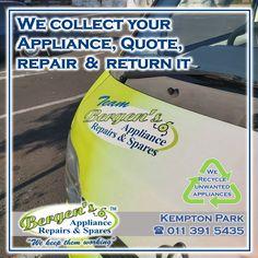 Appliance Repair, Appliance Parts, Bergen, Kempton Park, Creating Communities, Domestic Appliances, Stove Oven, Home Automation, Solar Energy