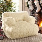 Create a comfy hangout space with Pottery Barn Teen's lounge seating and teen lounge chairs. Shop teen room chairs in many styles, and colors. Dream Bedroom, Girls Bedroom, Bedrooms, Bedroom 2018, Bedroom Ideas, Master Bedroom, Faux Fur Bean Bag, Teen Lounge, Cozy Furniture