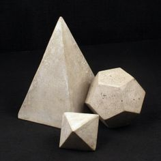 Darkroom Cement Geometric Object Large | Darkroom