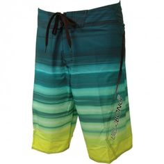 6c93994c9bf724 Billabong Mens Boardshorts Flux Aqua Lime Surf Fashion, Fashion Wear, Surf  Shorts, Men