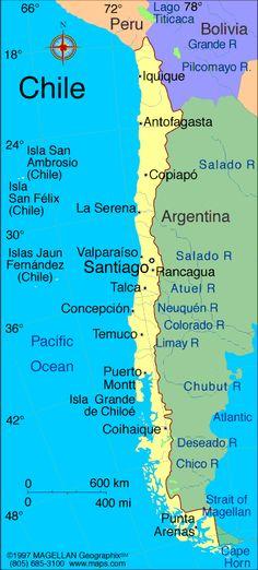 concepcion chile mapa - de búsqueda