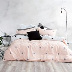 Looking for an idea to change the decoration of your living room? It will beautify your home at a lower cost. And icing on the cake, it will allow… Continue Reading → Teen Bedding Sets, Bedroom Sets, Bedroom Decor, Queen Bedroom, Queen Bedding, Bedrooms, Grey And Teal Bedding, Pink Bedding, Furniture Arrangement